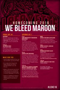 We Bleed maroon Homecoming Poster_1st pass